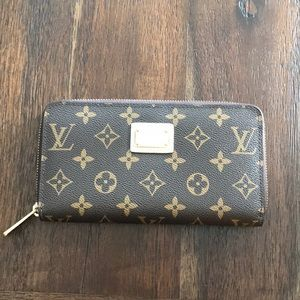 LV limited edition zippy wallet
